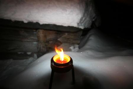 Lappland Iso-Syöte Kerzenschein