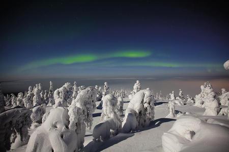 Nordlichtimpressionen in Iso-Syöte