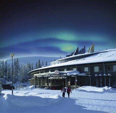 Neujahrs Aurora Nordlicht-Clubreise