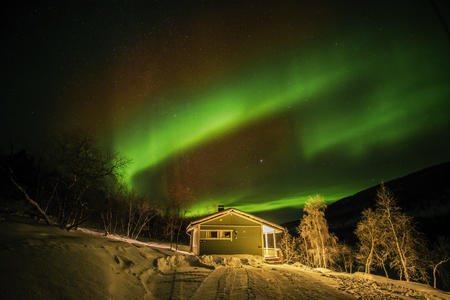 Silvester im Land der Sámi