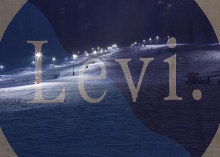Weihnachten im Skiort Levi