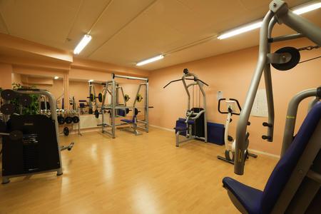 Gym, Fitnessraum im Ylläsrinne