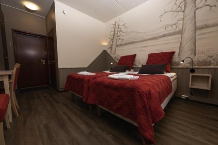 Doppelzimmer Hotel Ylläsrinne renoviert
