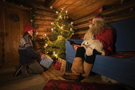 Joulupukki besuchen