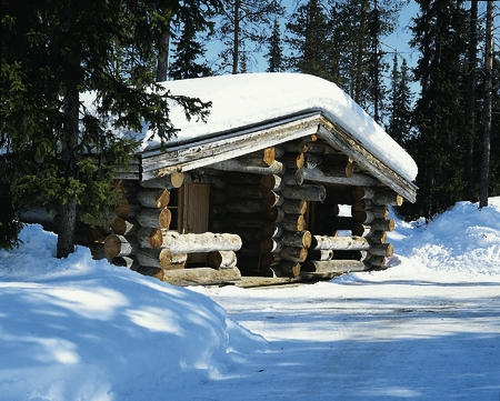 Log Cabin Aussen