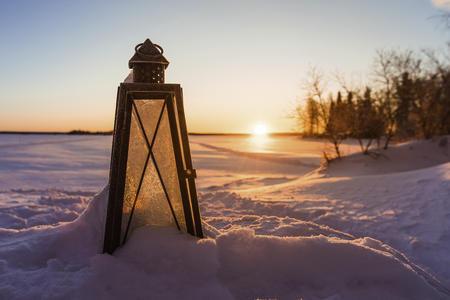 Sonnenuntergang in Apukka
