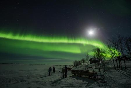 Weihnachtliche Auszeit in Kilpisjärvi