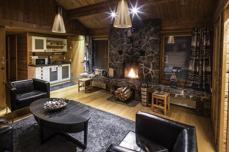 Gemeinsamer Wohnbereich von jeweils 2 Standard-Doppelzimmern