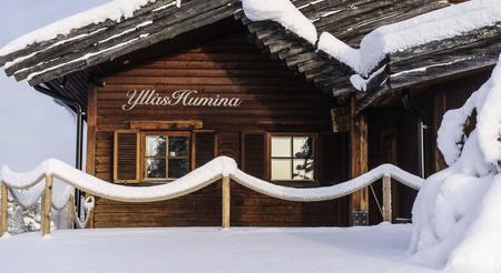 Außenaufnahme vom Hotel Ylläshumina