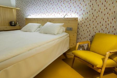 Zimmer im Traditionshotel Inari Kultahovi