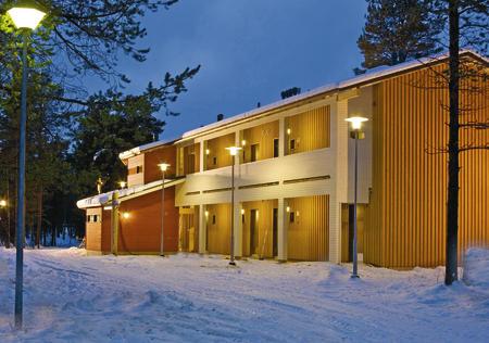 Flusshotel Inari Kultahovi
