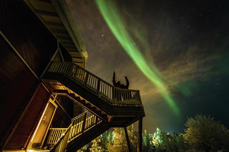 Eine Woche im Dorf der Sámi über Silvester
