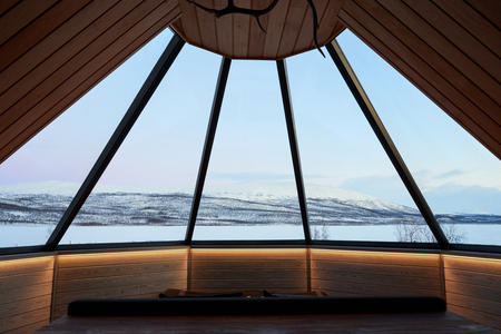 Eine Woche im Dorf der Sámi über Silvester mit Glaskotanacht