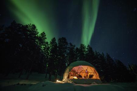 Aurora Dome in Torassieppi