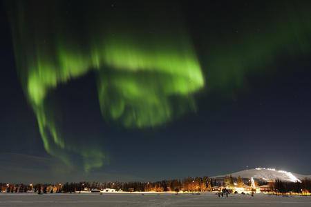 Winterstart in Ylläsjärvi