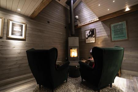 Wohnbereich in der Suite Sweden
