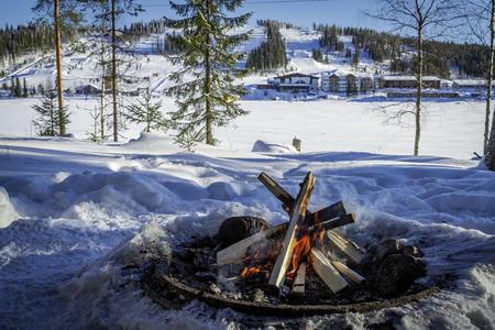 Wintermärchen in Ukkohalla