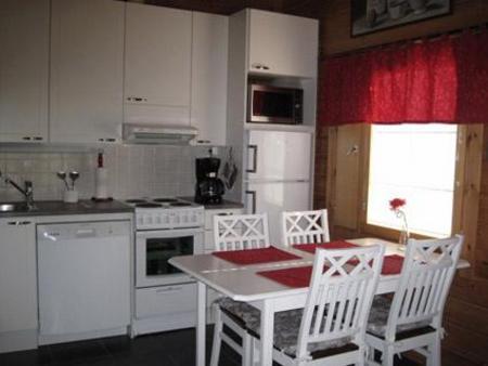 Küche im Ferienhaus in Ylläsjärvi