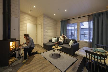 Ferienhaus in Salla 48 m²