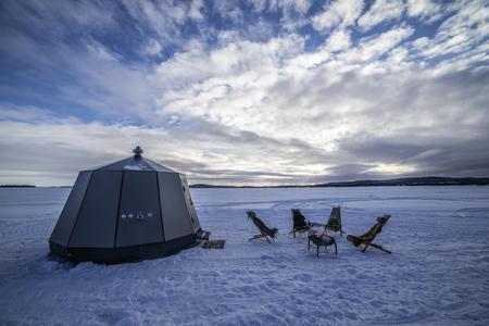 Eine Woche im Dorf der Sámi über Silverster mit Glasiglu