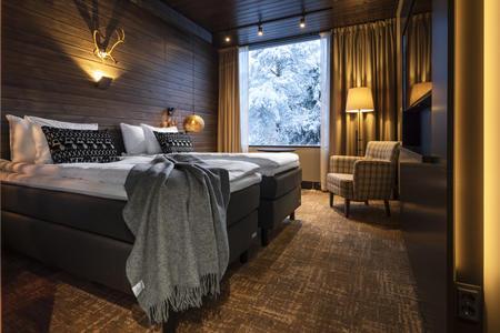Doppelzimmer Deluxe mit Sauna, Lapland Hotels Sky Ounasvaara