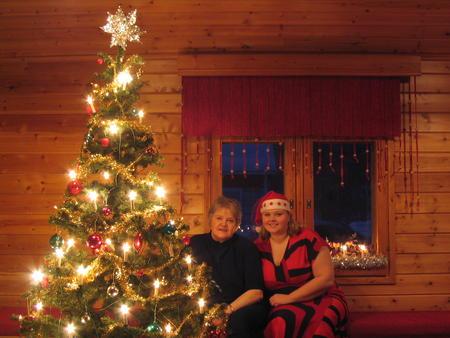 Eine Woche im Dorf der Sámi über Weihnachten