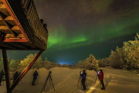 Eine Woche im Dorf der Sámi über den Dreikönigstag