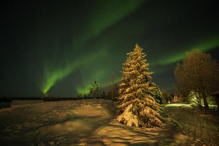 Silvester und Jahresbeginn in Laponia