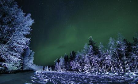 Winterwunderland Ruka im Ferienapartment