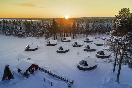 Weihnachten im Nordlichtparadies
