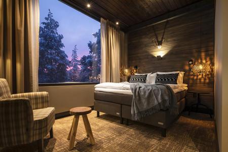 Doppelzimmer im Lapland Hotel Ounasvaara