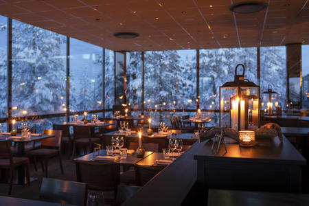 Restaurant im Hotel Ounasvaara