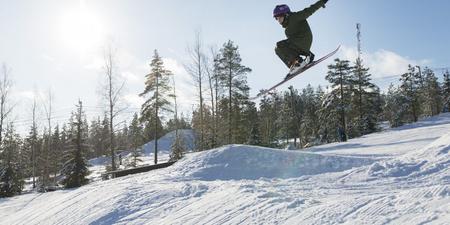 Skifahren in Ellivuori