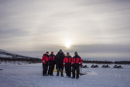 Eine Nacht im Eis - Lappland-Kurzreise